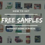 Get free samples without surveys