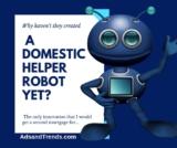 Will Someone Please Invent a Full Service Domestic Robot?
