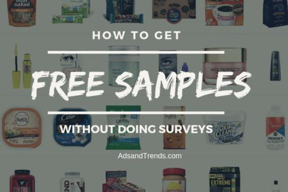 How to Get Free Samples With No Surveys