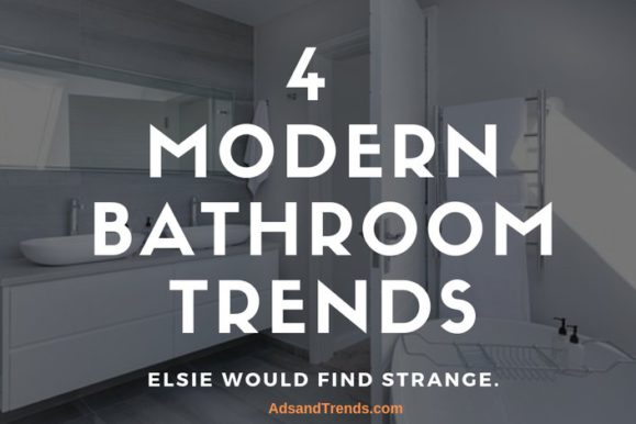 4 Modern bathroom trends that Elsie de Wolfe would find strange